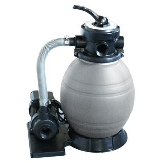 Blue Wave 12-inch Above Ground Sand Filter System