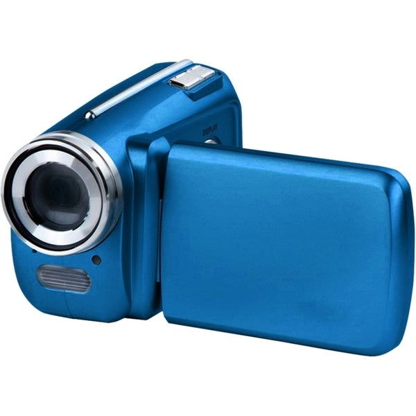 "VistaQuest DV500 Digital Camcorder - 1.8"" LCD - CMOS - SD - Blue"