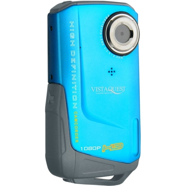 "VistaQuest DV-820 Digital Camcorder - 2"" LCD - CMOS - Full HD - Blue"