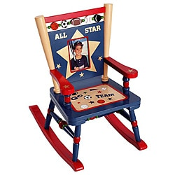 Levels Of Discovery All-star Sports Mini Rocker Chair - Free Shipping ...