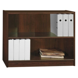 Universal 2 Shelf Bookcase (Option: Vogue Cherry)