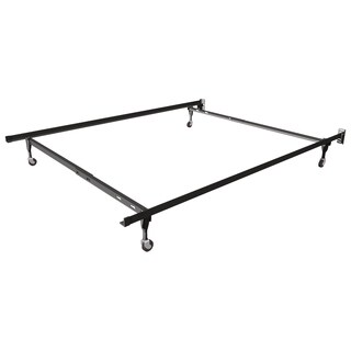 Rize Twin Full Adjustable Bed Frame With Wheels