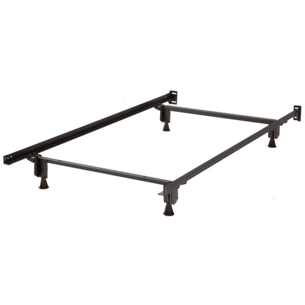 Mantua Twin/ Full Size Insta-Lock Bed Frame with Glides