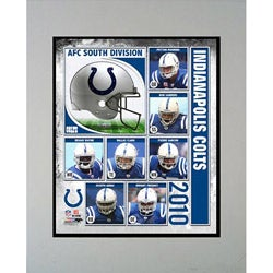 2010 Indianapolis Colts Matted Print