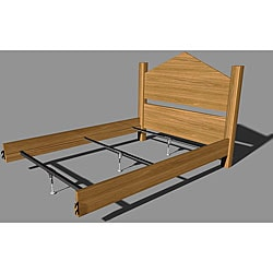 Mantua Steel Rail Support System for Wood Beds