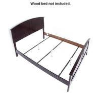 Steel Rail Support System for Wood Beds
