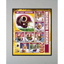 2010 Washington Redskins Matted Print