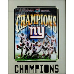 New York Giants World Champions 11x14-inch Matted-framed Photograph
