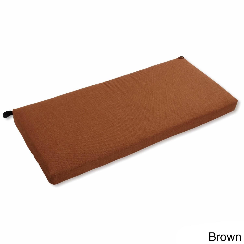 Blazing Needles All-Weather 40-inch Indoor/Outdoor Bench Cushion ...