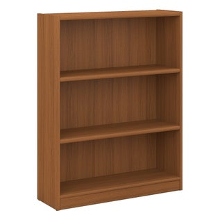 Bush Furniture Universal 3 Shelf Bookcase (Option: Tan)