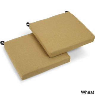 Blazing Needles 20-inch All-weather Outdoor Chair Cushions (Set of 2) (More options available)