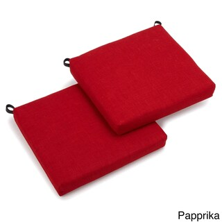 Blazing Needles Acrylic 20-inch All-weather Outdoor Chair Cushions (Set of 2)