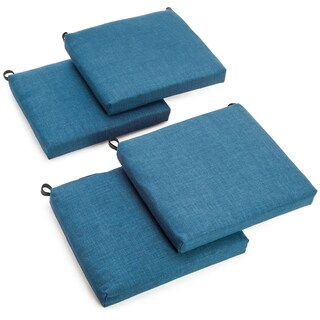 Blazing Needles 20-inch All-weather Patio Chair Cushion (Set of 4)