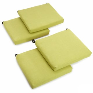 Beau Blazing Needles 20 Inch All Weather Patio Chair Cushion (Set Of 4)