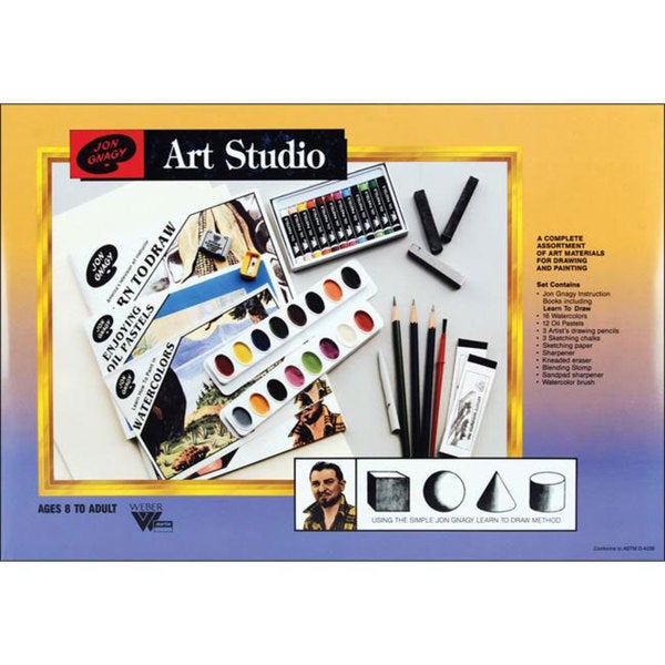 Jon Gnagy Art Studio Set