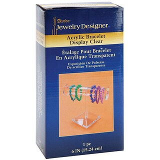 Darice Clear Acrylic Bracelet Display