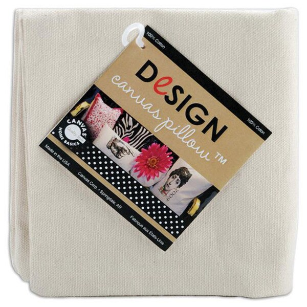 Canvas 14x14 Square Pillow Cover