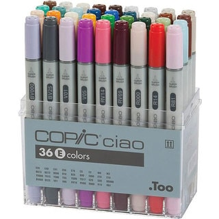 Copic Ciao Markers 36 Piece Set