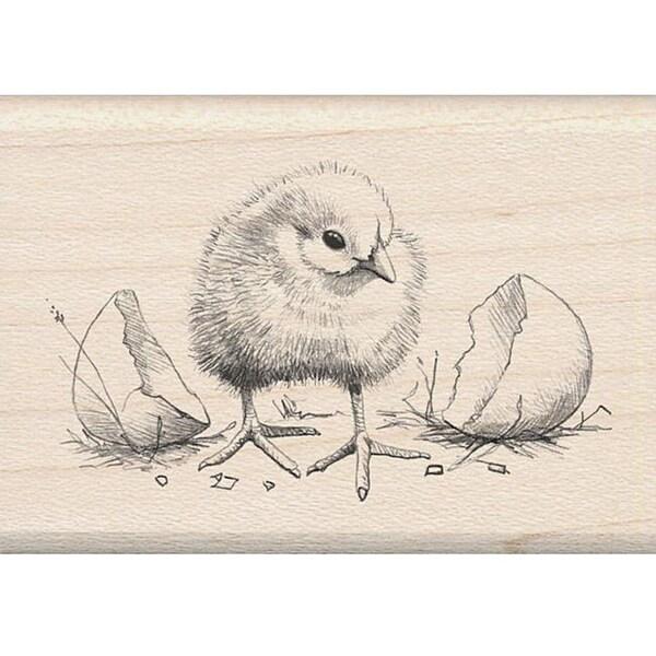 Inkadinkado Chick Rubber Stamp