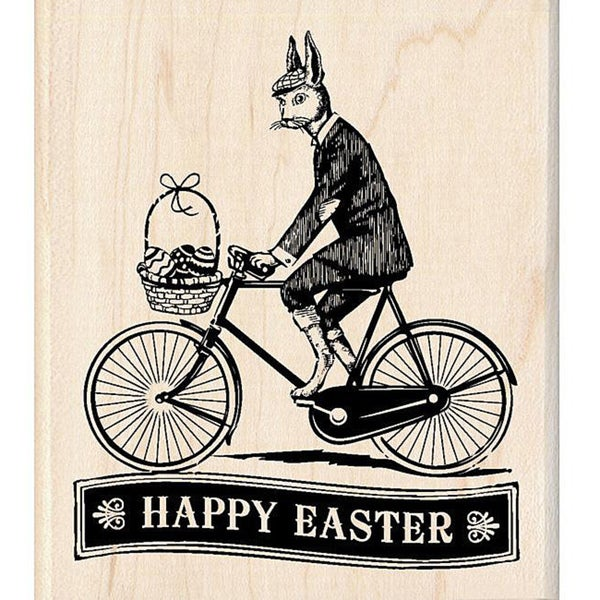 Inkadinkado Easter Delivery Rubber Stamp