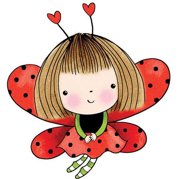 Penny Black Love Antennae Rubber Stamp   13484437