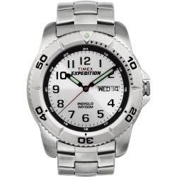 Timex Men's T46601 Expedition Stainless Steel Bracelet Watch - Thumbnail 2