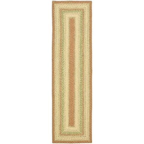 Safavieh Hand-Woven Indoor/Outdoor Reversible Multicolor Casual Braided Rug - 3' x 5'