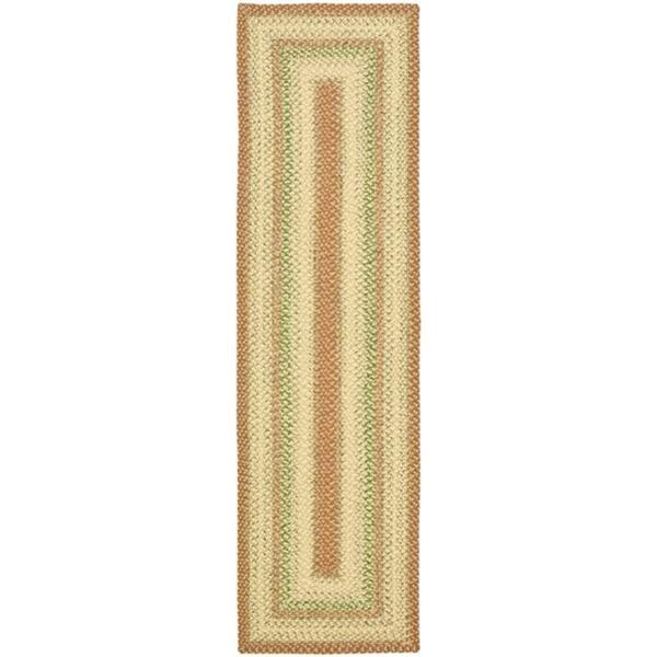 Safavieh Hand-Woven Indoor/Outdoor Reversible Multicolor Casual Braided Rug (3' x 5')
