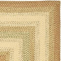 Safavieh Hand-Woven Indoor/Outdoor Reversible Multicolor Braided Area Rug (6' x 9') - Thumbnail 1