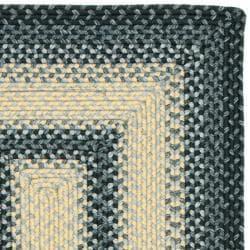Safavieh Hand-woven Reversible Multicolor Braided Rug (2'3 x 12') - Thumbnail 1
