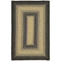 Safavieh Hand-woven Reversible Multicolor Braided Rug - 2'6' x 4'