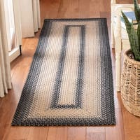 """Safavieh Hand-woven Reversible Multicolor Braided Rug - 2'3"""" x 8'"""