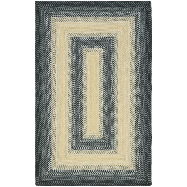 Safavieh Hand-woven Reversible Multicolor Braided Rug (4' x 6')
