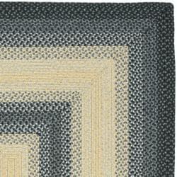 Safavieh Hand-woven Reversible Multicolor Braided Rug (5' x 8') - Thumbnail 1