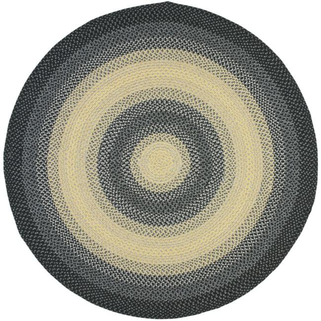 Safavieh Hand-woven Reversible Multicolor Braided Rug (8' Round)