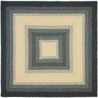 Safavieh Hand-woven Reversible Multicolor Braided Rug - 8' x 8' Square