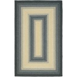 Safavieh Hand-woven Reversible Multicolor Braided Rug - 9' x 12' - Thumbnail 0