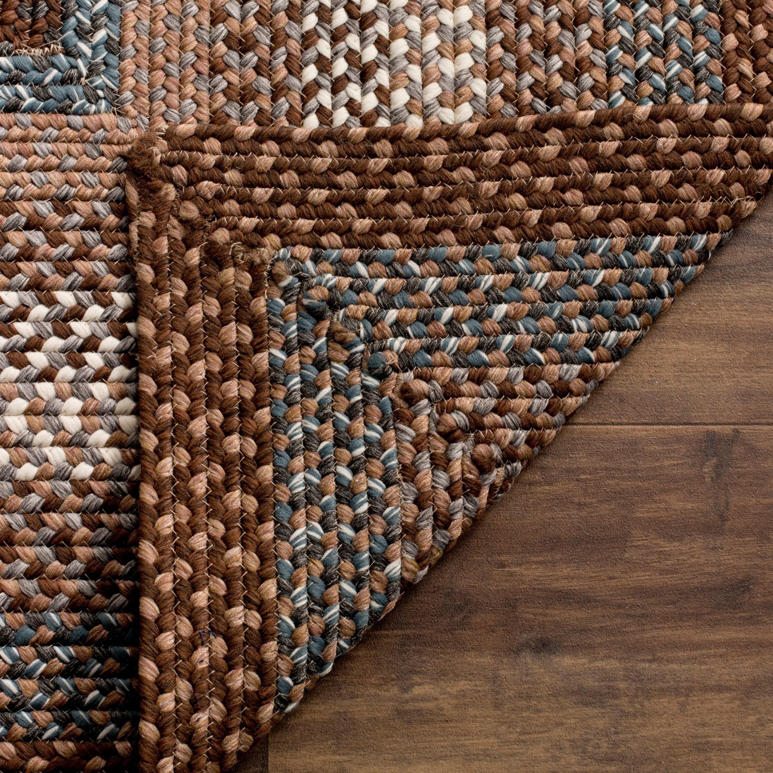 Braided Leather Rug Area Rug Ideas