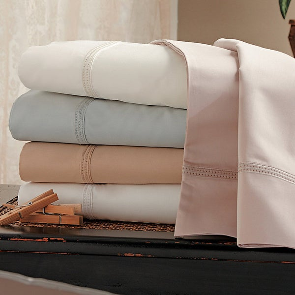 Egyptian Cotton 800 Thread Count Double Hemstitch Sheet Set