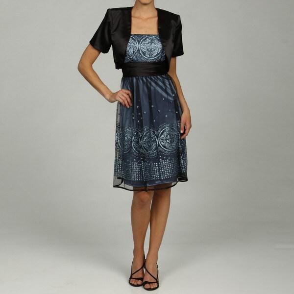 78939109549 Shop Black Periwinkle Glitter Dress with Black Shrug - Free Shipping ...