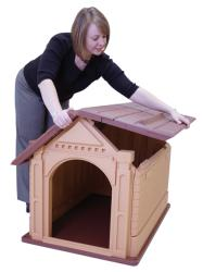 Pet Zone Comfy Cabin Small Dog House - Thumbnail 1