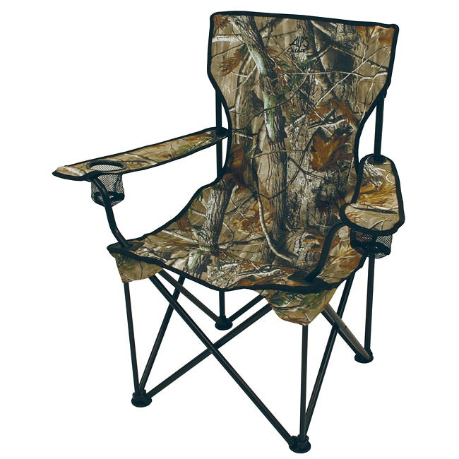 Superb Alps Outdoorz Big C A T Realtree Fabric Camp Chair Cjindustries Chair Design For Home Cjindustriesco