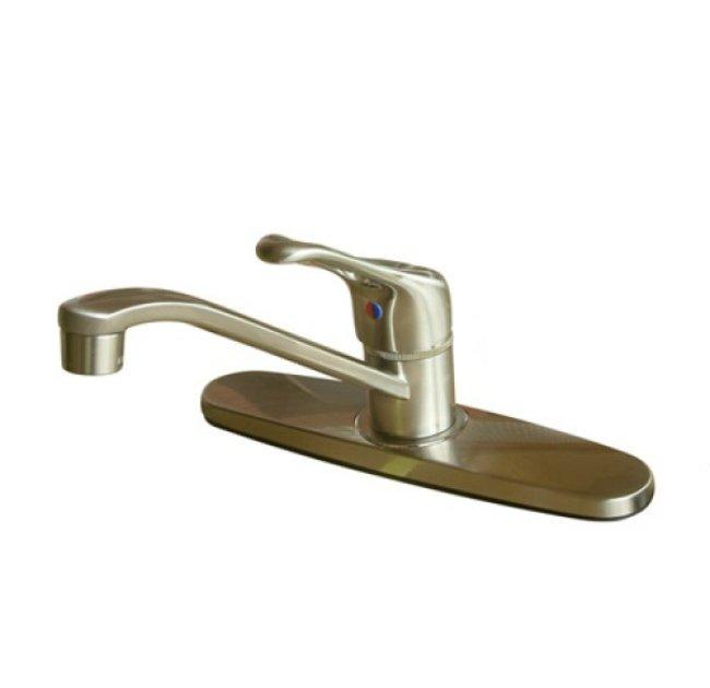 Satin Nickel Basic Kitchen Faucet Satin Nickel Free Shipping