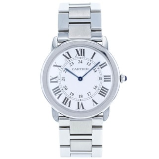 Catrier Women's Roadster Stainless Steel Silver Dial Watch