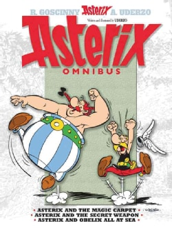Asterix Omnibus 28, 29 & 30: Asterix and the Magic Carpet, Asterix and the Secret Weapon, Asterix and Obelix All ... (Paperback)