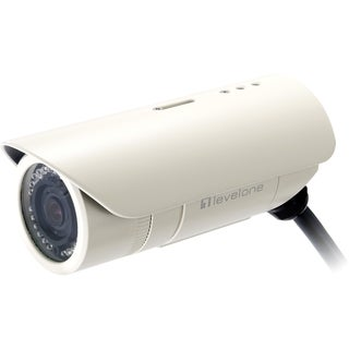 LevelOne Megapixel FCS-5041 10/100 Mbps PoE W/4x Optical Zoom Day/Nig