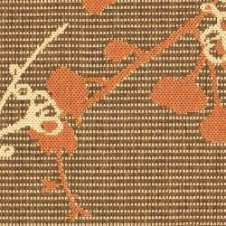 Safavieh Courtyard Brown/ Terracotta Indoor/ Outdoor Rug (2' x 3'7) - Thumbnail 2