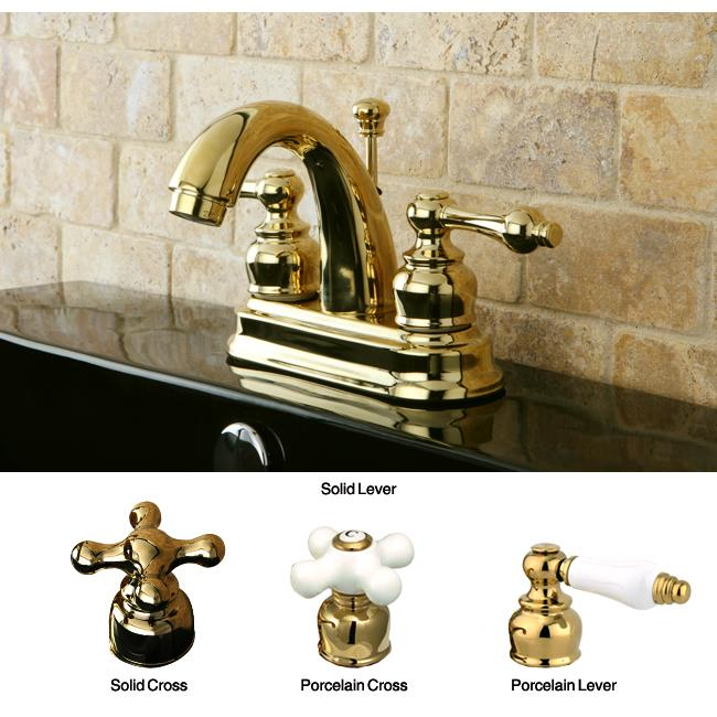 American Classic Polished Brass Bathroom Faucet
