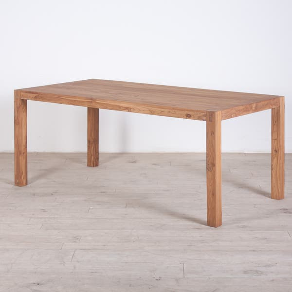 Awesome Shop Handmade Reclaimed Teak Wood Dining Table And Benches Evergreenethics Interior Chair Design Evergreenethicsorg