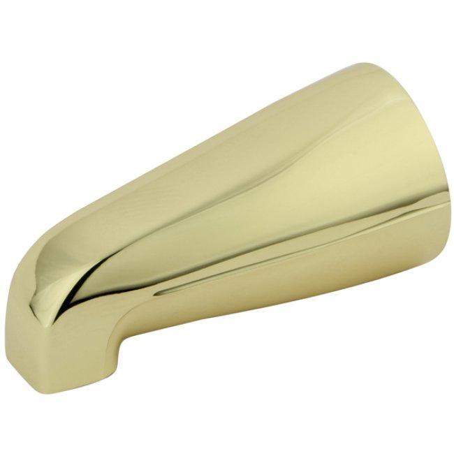 Polished Brass 5-inch Tub Spout